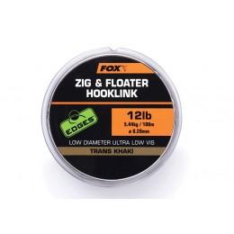 FOX ZIG & FLOATER HOOKLINK 12LB