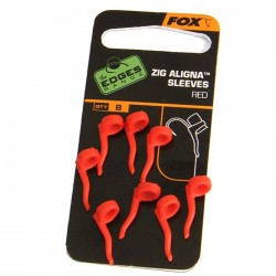ADAPTOARE FOX EDGES ZIG ALIGNA SLEEVES  RED