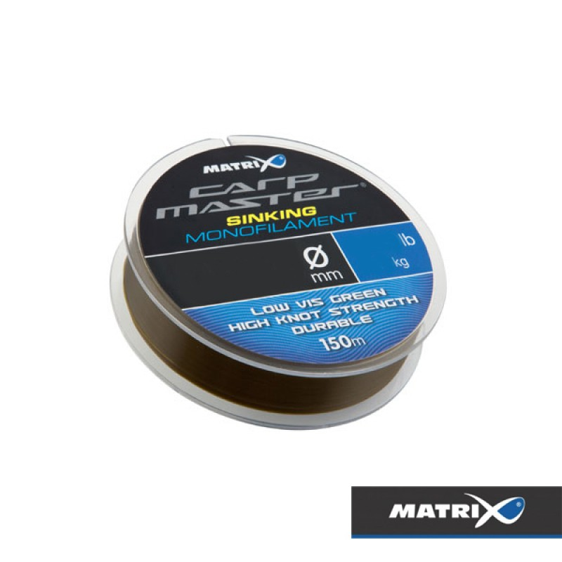 FIR MONOFILAMENT MATRIX CARPMASTER SINKING, 150M, 0,25MM