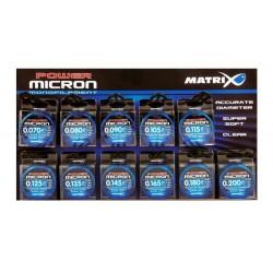 Fir Monofilament Matrix Power Micron Hooklength & Rig Line, 100m, 0,105mm