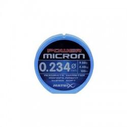 FIR MATRIX POWER MICRON HOOKLENGTH & RIG LINE, 100M, 0,234MM