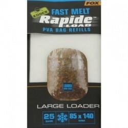 Pungi Solubile PVA Fox Fast Melt Rapide Load Bag Refills 55x120mm
