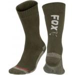 Sosete Fox Collection Socks, Green/Silver, Marime 44-47