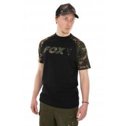 Tricou Fox Camo Raglan T- Shirt Black/Camo