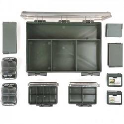Set Cutii Pentru Accesorii Fox F-Box Deluxe Medium Single