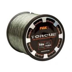 Fir Monofilament FOX Torque Line Low Vis Green, 1000m