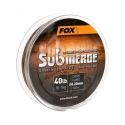 Fir Textil Fox Submerge Dark Camo Sinking Braid, 600m, 0.30mm 24.90kg