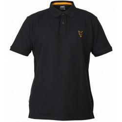 Tricou Polo FOX Collection Orange & Black Polo Shirt