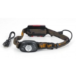 Lanterna de Cap FOX Halo MS300C Headtorch + Acumulator, 300 Lumeni
