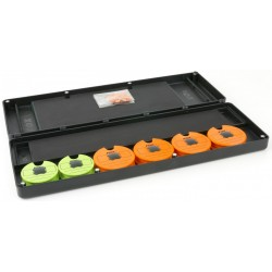 Penar Rigid pentru Riguri Fox Magnetic Disc & Rig Box Sistem, Large, 35x12x4cm