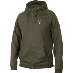 Hanorac FOX Collection Green Silver Lightweight Hoodie