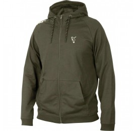 HANORAC FOX COLLECTION GREEN & SILVER LIGHTWEIGHT HOODIE