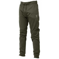 PANTALONI FOX COLLECTION GREEN & SILVER LIGHTWEIGHT JOGGERS