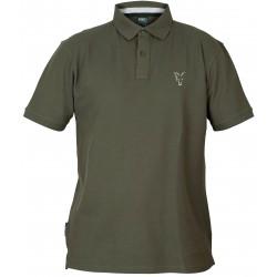 Tricou Polo FOX Collection Green & Silver Polo Shirt