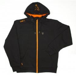 Hanorac Fox Black/Orange Heavy Lined