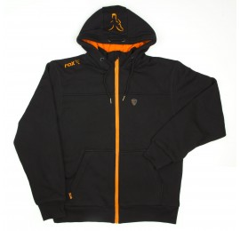 HANORAC FOX BLACK/ORANGE HEAVY LINED