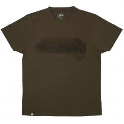 Tricou Fox Scenic Khaki/Brown