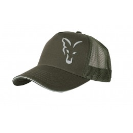 FOX GREEN & SILVER TRUCKER CAP