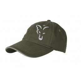 FOX  GREEN & SILVER BASEBALL CAP