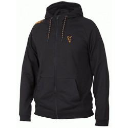 Hanorac FOX Collection Orange  Black Lightweight Hoodie