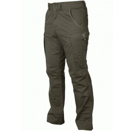 PANTALONI FOX COLLECTION GREEN/SILVER COMBATS TROUSERS