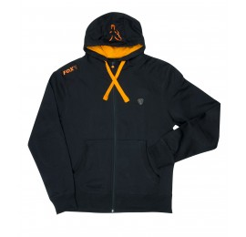 HANORAC FOX BLACK&ORANGE LIGHTWEIGHT ZIPPER