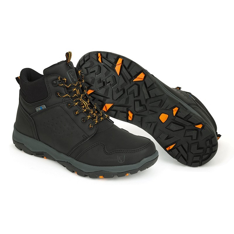 BOCANCI FOX COLLECTION BLACK & ORANGE MID BOOTS NR.42