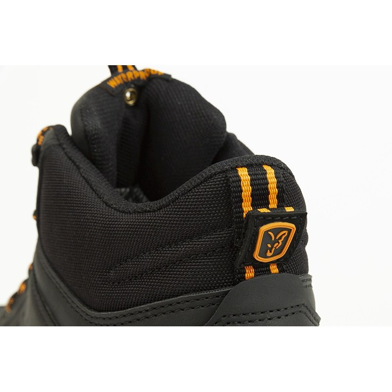 BOCANCI FOX COLLECTION BLACK & ORANGE MID BOOTS NR.41