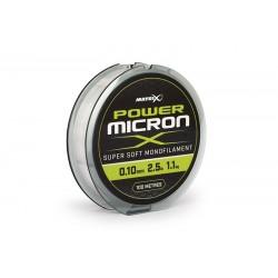 Fir monofilament Matrix Power Micron X 0.10mm