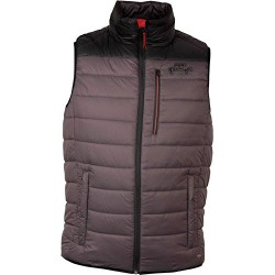 Fox Rage Puffa Sheild Gilet  Grey/Black
