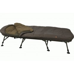 Pat Pescuit Fox Flatliner 3 Season Sleep System, 8 Picioare, 215x84cm