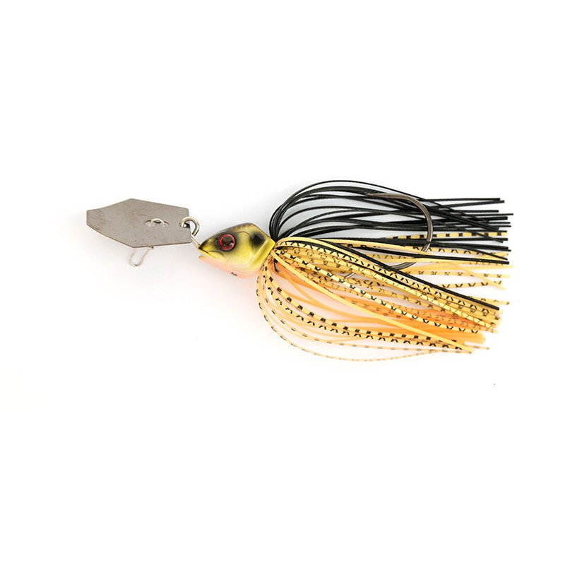CHATTERBAIT FOX RAGE BLADED JIGS RAGE CHATTERBAIT, BLACK & GOLD, 12G