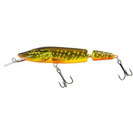 Vobler Salmo Pike Jointed Deep Runner, Hot Pike, 13cm