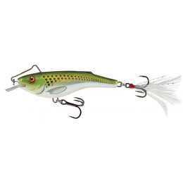 RAIL SHAD SINKING - 6CM Holographic Green Shiner