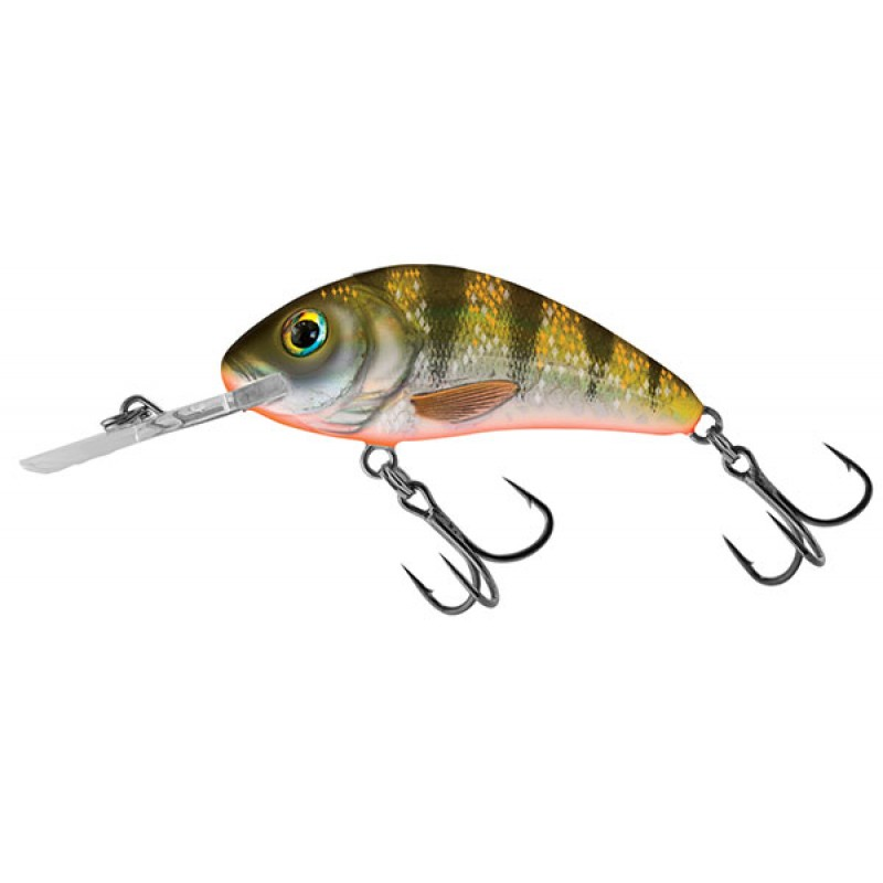 RATTLIN' HORNET FLOATING - 3.5CM Yellow Holographic Shad