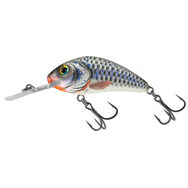 RATTLIN' HORNET FLOATING - 3.5CM Silver Holographic Shad