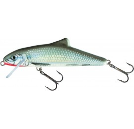 Salmo Skinner Floating 10cm Holographic Grey Shiner
