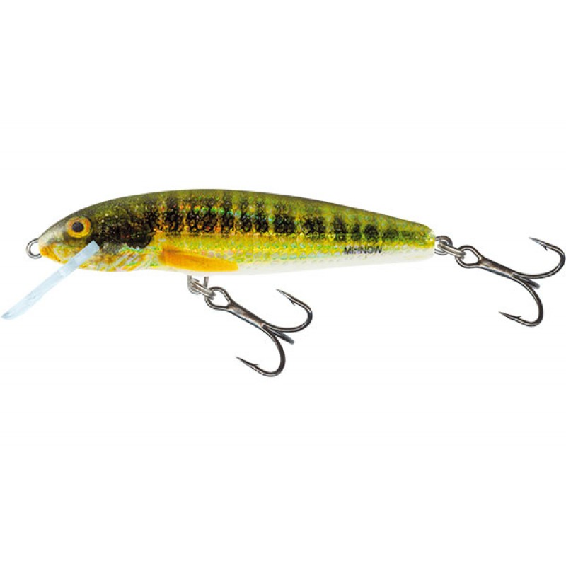 Vobler Salmo Minnow Floating, Holo Real Minnow, 5cm