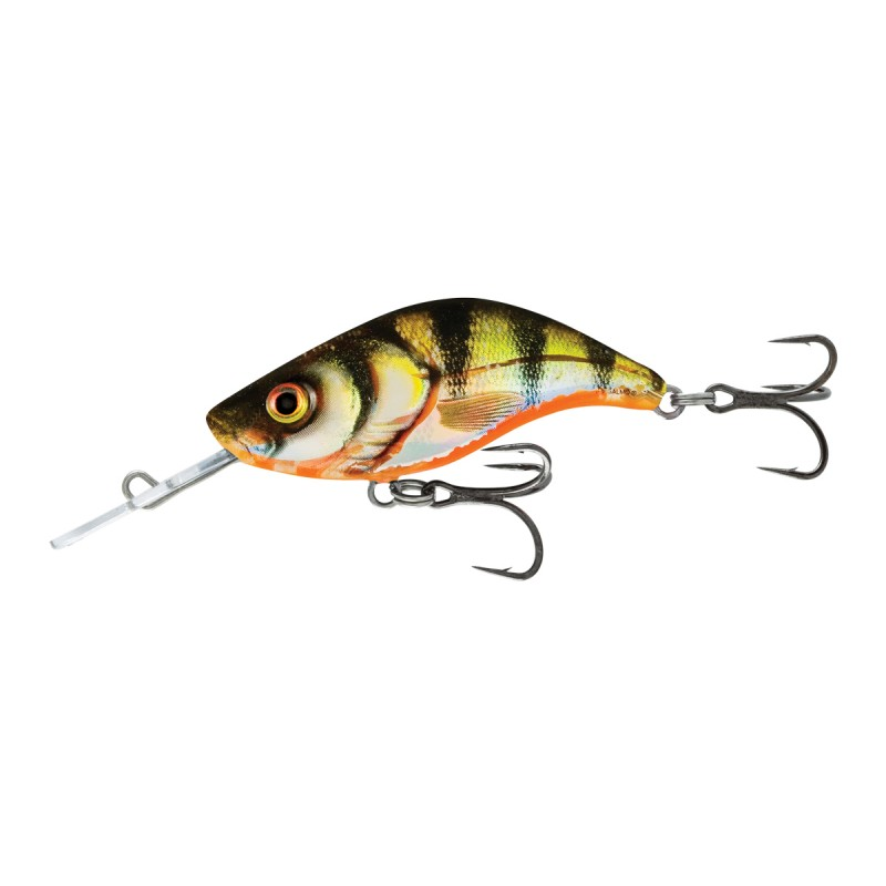 Salmo  Sparky Shad Sinking-4cm Yellow Holographic Perch