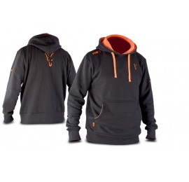 Hanorac Fox Black & Orange Hoodie