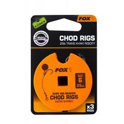 MONTURA FOX STIFF CHOD RIG STANDARD, 3BUC/DISC, NR.6