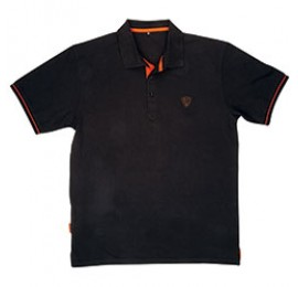 TRICOU POLO SHIRT BLACK/ORANGE