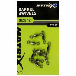 VARTEJ CU BUTOIAS MATRIX BARREL SWIVELS NR.12, 10BUC/PLIC