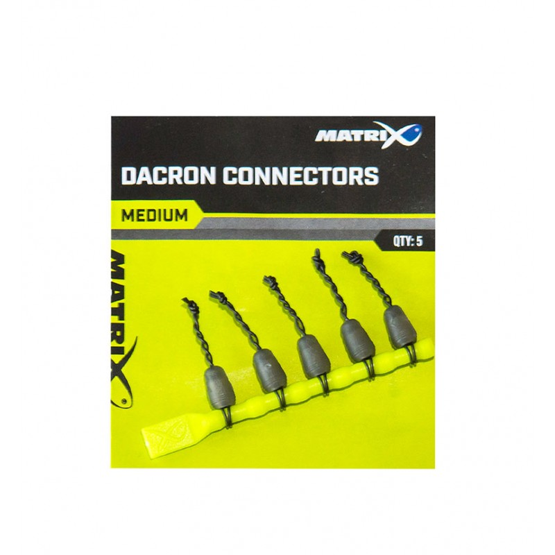 MATRIX DACRON CONNECTORS  SMALL
