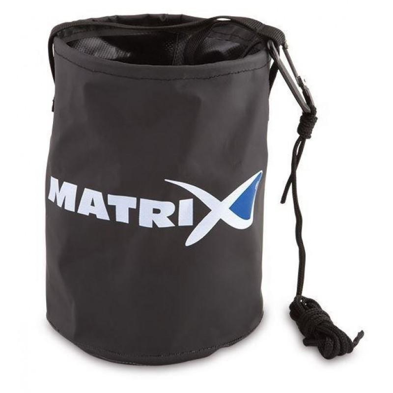 BAC NADA MATRIX COLLAPSIBLE WATER BUCKET +CLIP