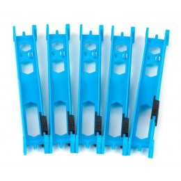 PLIOR MONTURI/LINII FOX, LIGHT BLUE, 13CM, 5BUC/SET