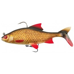 SWIMBAIT REPLICANT® FOX RAGE REALISTIC ROACH, SUPER HOT, 14CM, 45G