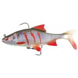 SWIMBAIT REPLICANT® FOX RAGE REALISTIC ROACH, SUPER WOUNDED, 14CM, 50G