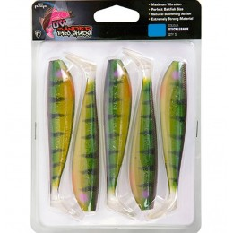 SHAD FOX RAGE ZANDER PRO ULTRA UV, STICKLEBACK, 7.5CM, 5BUC/BLISTER
