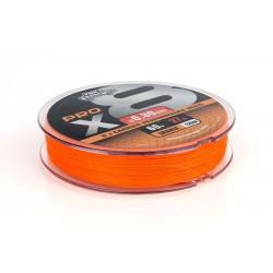FIR TEXTIL FOX RAGE PRO X8, PORTOCALIU, 120M  -0.13mm 10kg